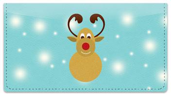 Rudolph Checkbook Cover