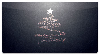 Glowing Tree Checkbook Cover