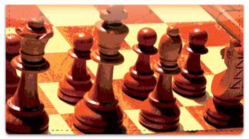 Chess Checkbook Cover