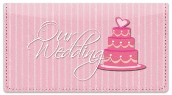 Wedding Day Checkbook Cover