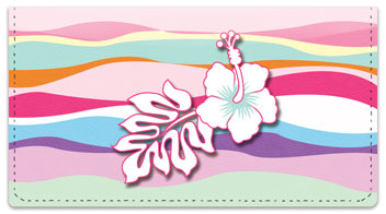 Hawaiian Hibiscus Checkbook Cover