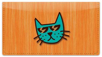 Cool Cat Checkbook Cover