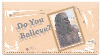 Bigfoot Checkbook Cover