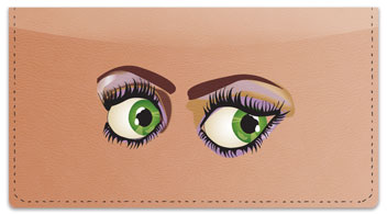 Luscious Lashes Checkbook Cover