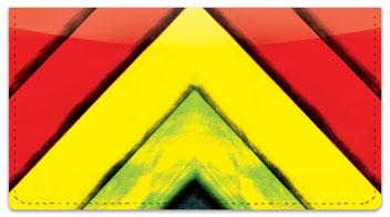 Zigzag Checkbook Cover