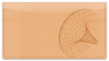 Wireframe Checkbook Cover