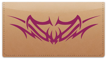 Back Tattoo Checkbook Cover