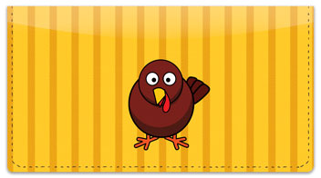 First Thanksgiving Checkbook Cover