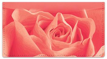 Rosebud Checkbook Cover