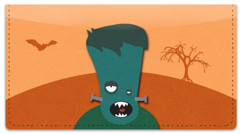 Silly Monster Checkbook Cover