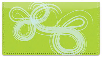 Wispy Checkbook Cover