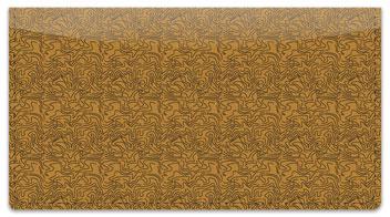 Tan Topographic Checkbook Cover