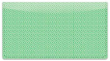 Green Box Scroll Checkbook Cover