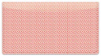 Red Box Scroll Checkbook Cover