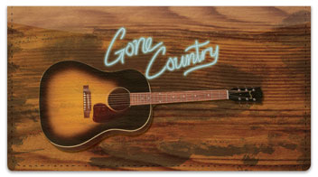 Gone Country Checkbook Cover