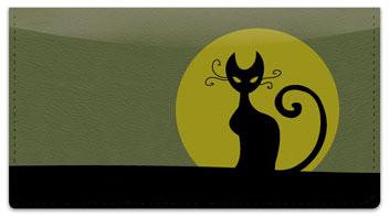 Kitty Noir Checkbook Cover