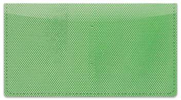 Green Mesh Checkbook Cover