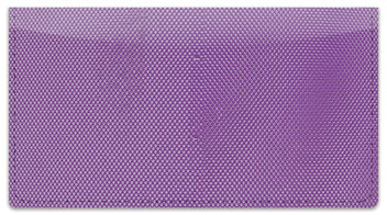 Purple Mesh Checkbook Cover
