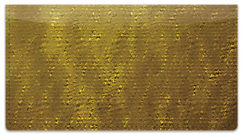 Yellow Burlap Checkbook Cover