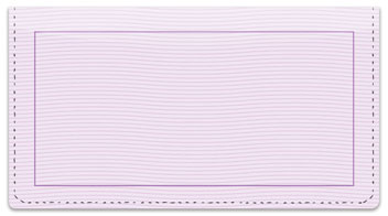 Purple Safety Checkbook Cover