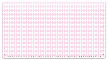 Diamond Pattern Checkbook Cover