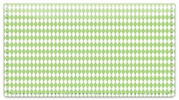 Green Diamond Checkbook Cover