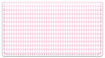 Pink Diamond Checkbook Cover