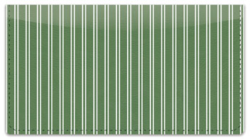 Green Pinstripe Checkbook Cover