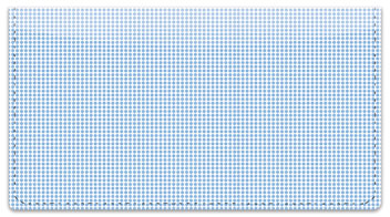 Blue Dot Checkbook Cover