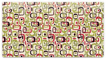 Retro Wallpaper Checkbook Cover