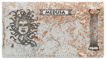 Mythical Creature Checkbook Cover