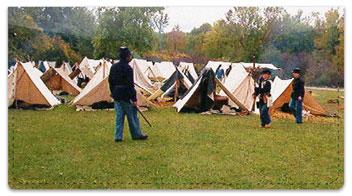 Civil War Reenactor Checkbook Cover