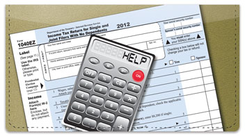 Tax Day Checkbook Cover