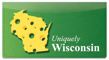 Uniquely Wisconsin Checkbook Cover