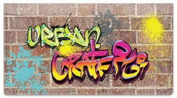 Urban Graffiti Checkbook Cover