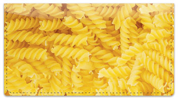 Pasta Checkbook Cover