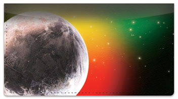 Final Frontier Checkbook Cover