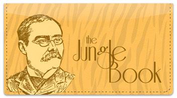 Rudyard Kipling Checkbook Cover