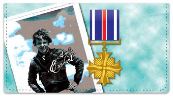 Amelia Earhart Checkbook Cover