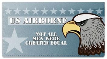 U.S. Airborne Rangers Checkbook Cover
