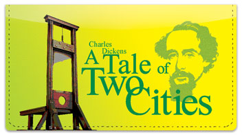 Charles Dickens Checkbook Cover