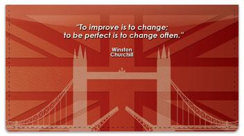 Winston Churchill Checkbook Cover