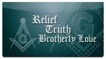 Freemason Checkbook Cover
