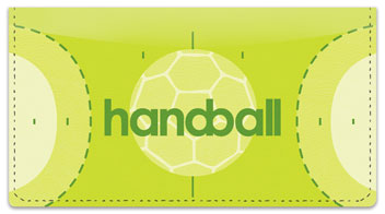 Handball Checkbook Cover