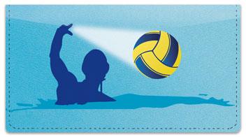 Water Polo Checkbook Cover