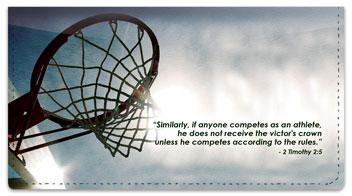 Sports Scripture Checkbook Cover