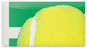 Classic Tennis Ball Checkbook Cover