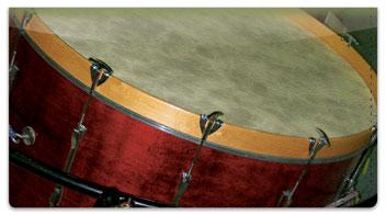 Drum Checkbook Cover