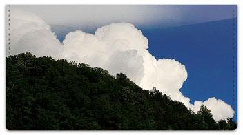 Quiet Cloud Checkbook Cover