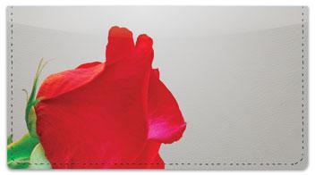 Rose Checkbook Cover